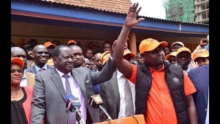 Raila party refunds aspirants after sham nomination exercise| PRESS REVIEW