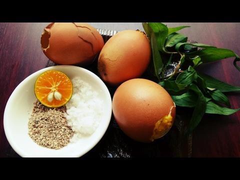 Món Ăn Ngon – Trứng GÀ Nướng Kiểu Thái siêu dễ siêu thơm ngon