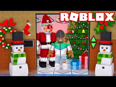 Christmas Update The Normal Elevator Roblox Roblox Christmas Scary Elevator Youtube