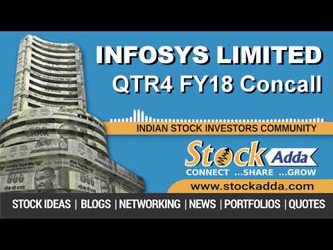 Infosys Ltd Investors Conference Call Q4FY18
