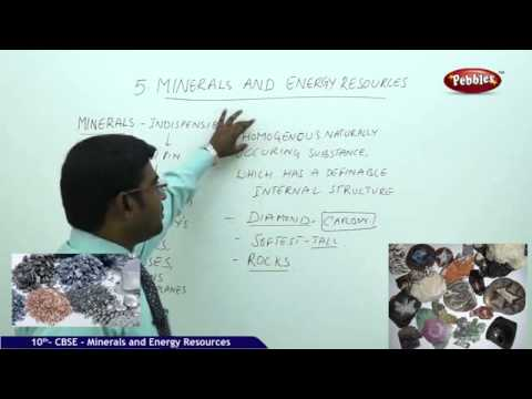 CBSE class X Social Geo Minerals and Energy Resources Part 1