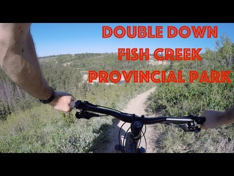 Double Down - Fish Creek Provincial Park, Calgary [Evo SS + GoPro Hero 4] - Mountain Biking