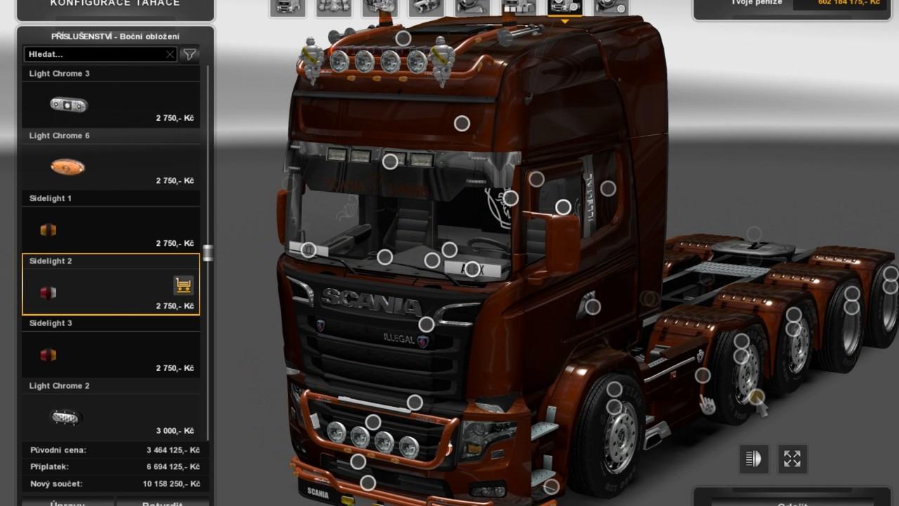 V8 illegal reworked truck v5 0 simulator games mods download -  Ets2 Euro Truck Simulator 2 Scania Illegal V8 Reworked V 5 0