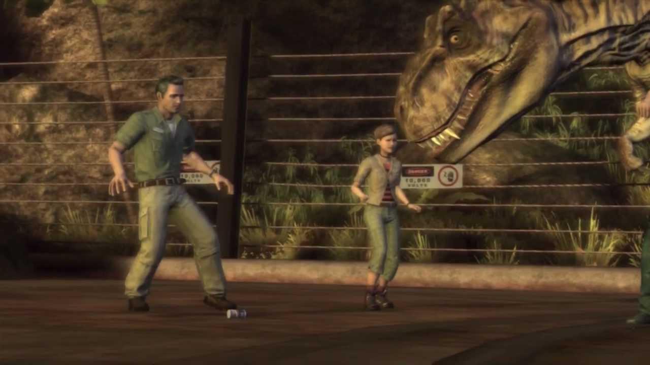 Jurassic park video game