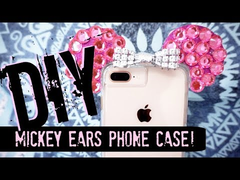 wholesale dealer 372cf ac28b DIY Mickey Mouse Ears Phone case