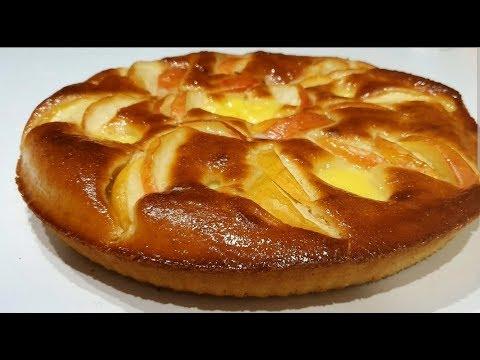 gâteau-aux-pommes-moelleux🍎🍏-et-très-facile-à-faire