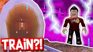 SECRET TRAIN EASTER EGG & LIGHTNING UPDATE!! (Roblox Jailbreak)