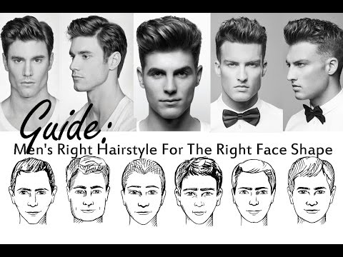 How To Choose A Good Hairstyle For Guys : Choose the best hairstyle for your face shape how to pick a new