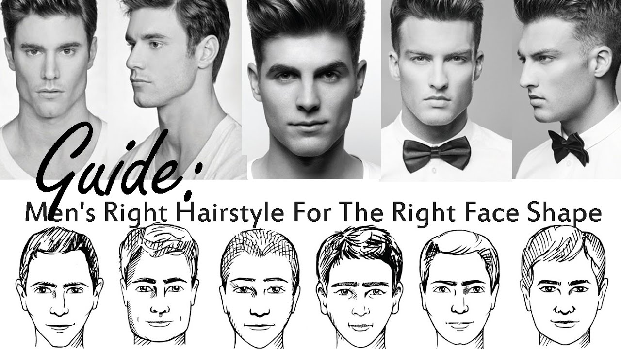 how to choose best hairstyle for your face shape for men | how to pick a new men's hair style