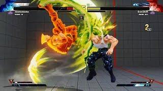 Street Fighter V AE Daigo Umehara vs. Sunshift.