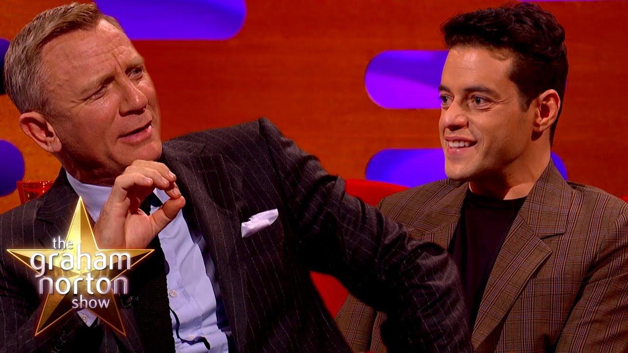 Download How Daniel Craig Made Rami Malek A Bond Girl | The Graham Norton Show