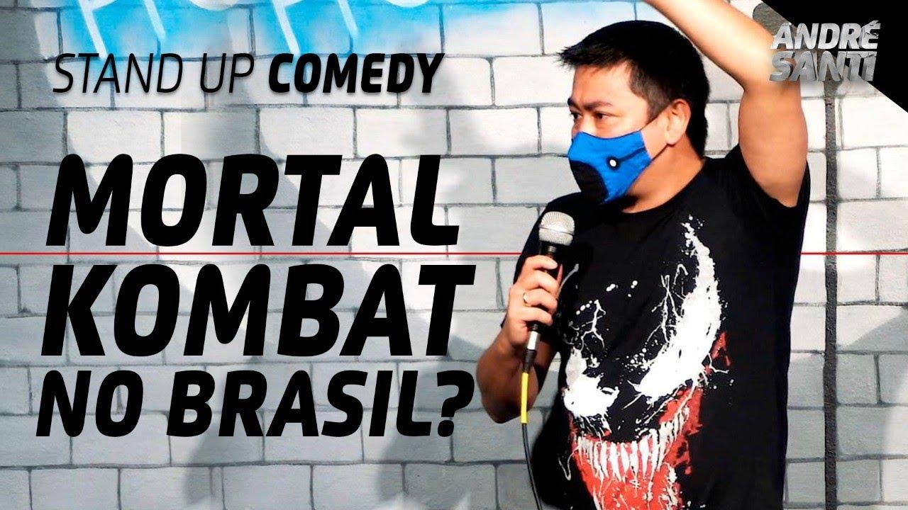 NOVO FILME DO MORTAL KOMBAT | André Santi | Stand Up Comedy