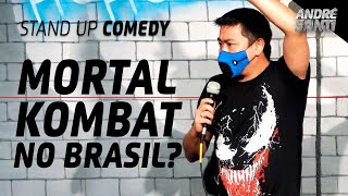 NOVO FILME DO MORTAL KOMBAT | André Santi | Stand Up Comedy