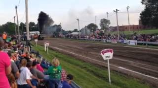 Ballistic Buck Pro Field, King City MO tractor pull