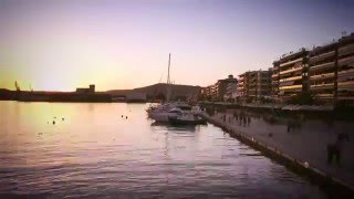Daily Life in Volos, Greece (Volos Time Lapse 1080p)