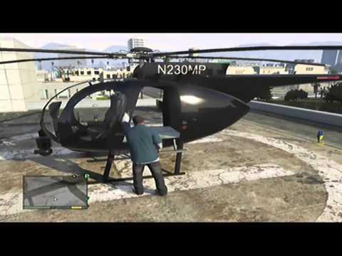 GTA 5: TUTTI GLI SPAWN DEGLI ELICOTTERI - #ONLINE #HELICOPTER LOCATION
