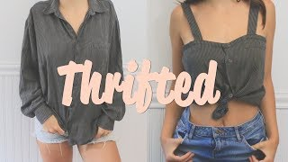 Transforming Thrifted Clothes ♥ Ethical Clothing