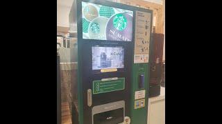 스타벅스 커피 자판기Máy bán cà phê tự đ…