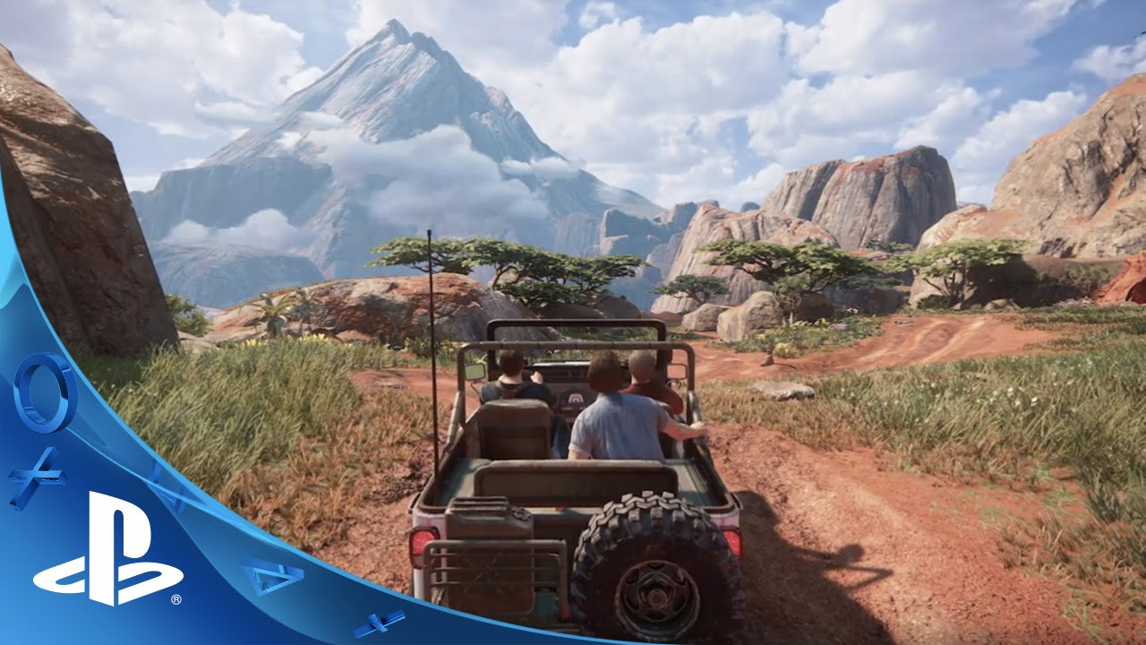 UNCHARTED 4: A Thiefs End - Madagascar Preview | PS4