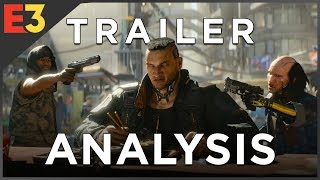 Cyberpunk 2077: In-Depth TRAILER ANALYSIS & Secret Coded Messages!   Polygon @ E3 2018