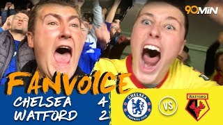 Chelsea 4-2 Watford | Batshuayi double secures the win for Chelsea vs Watford | FanVoice