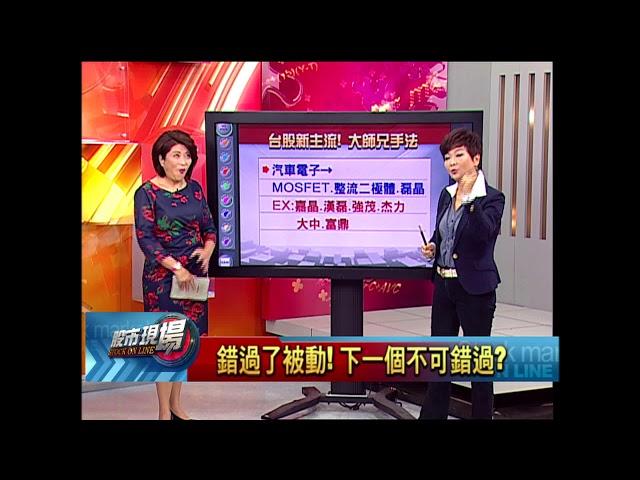 股市現場*鄭明娟【台股新主流】20180529-2(李蜀芳)