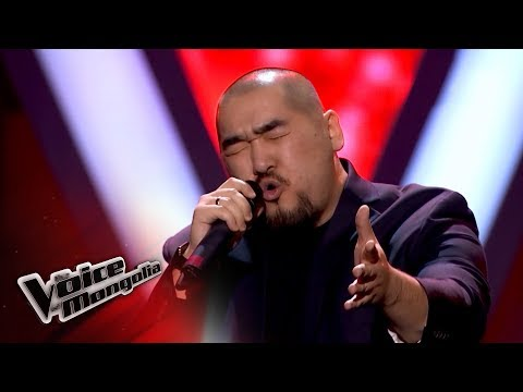 """Enhsuh.S - """"Kiss From A Rose"""" - Blind Audition - The Voice of Mongolia 2018"""