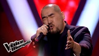 "Enhsuh.E - ""Kiss From A Rose"" - Blind Audition - The Voice of Mongolia 2018"