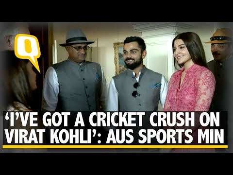 'I've Got a Cricket Crush on Virat Kohli': Aus Sports Minister | The Quint