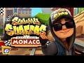 Subway Surfers MONACO ipad Gameplay - Jake Dark Outfit