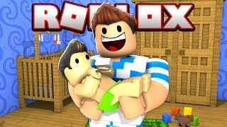 I BECAME A FATHER FOR 1 DAY AT ROBLOX!