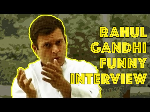 Rahul Gandhi's Funniest Interview | FunCut