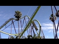 Medusa Off-Ride Six Flags Discovery Kingdom HD 60fps
