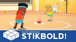 Stikbold! - A Dodgeball Adventure Pt. 1   2 Player Co-Op Gameplay