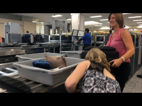 Atlanta airport reveals new system to ease security lines