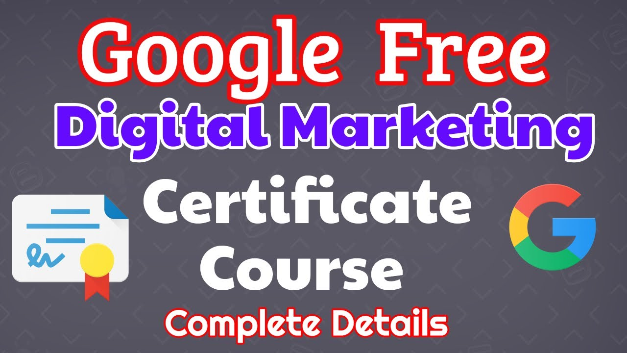 Organize and share your learning with class central lists. Free Google Course & Certification in Digital Marketing ...