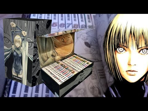 Claymore Manga Complete Box Set (Vol 1-27) Unboxing