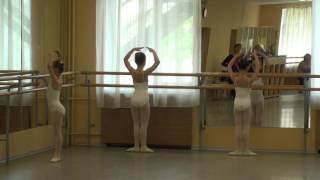 """Ч.1 Открытый урок-экзамен 2 класса балетной труппы ЦДТТ """"Синяя птица"""" (г. Подольск)"""