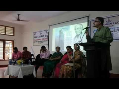 On Solitary Reaper, Inauguration of  Annie's Literary Club at Besant Women's College