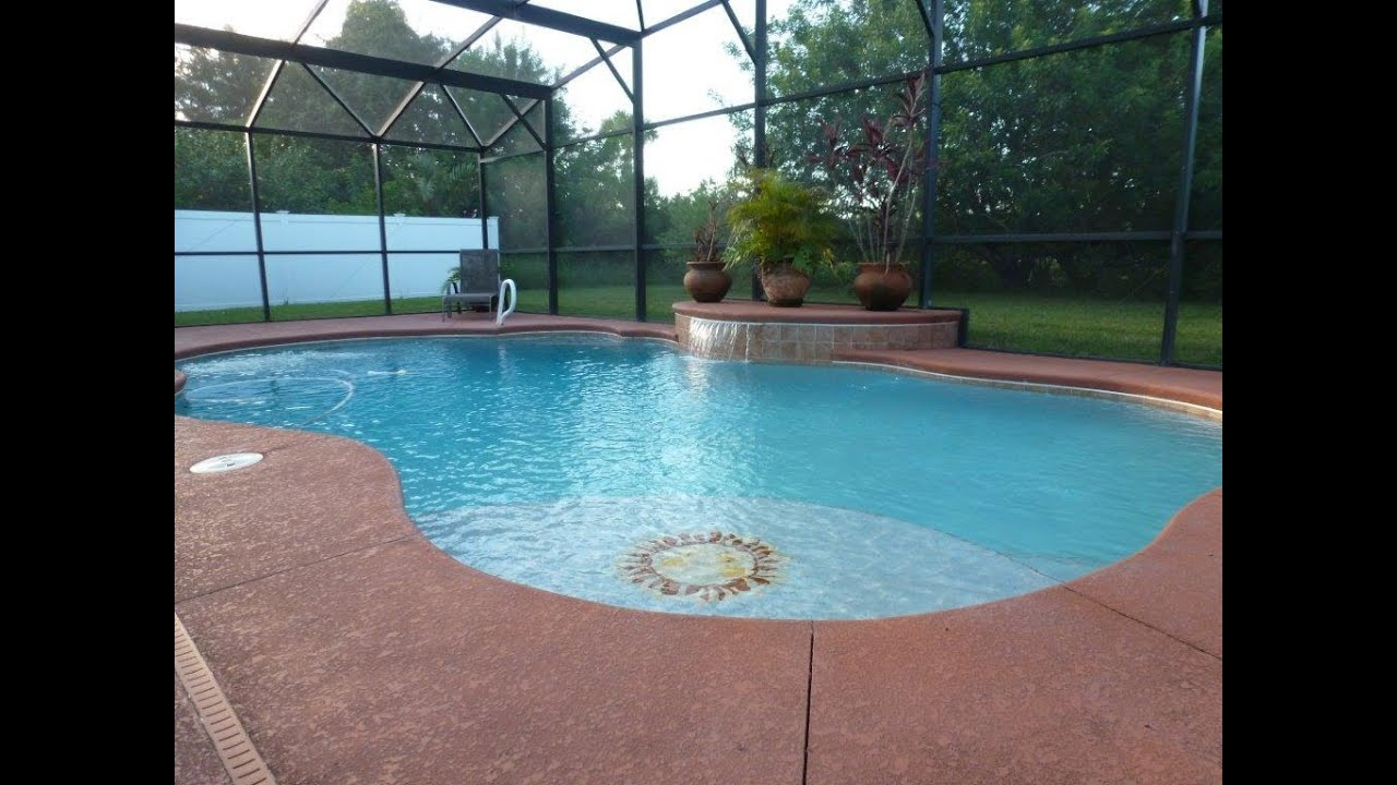 3 Bedroom Pool Home 4656 Four Lakes Dr Melbourne Fl