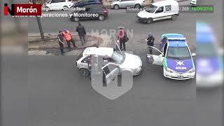 Persecución y detención: conducía un auto con pedido de secuestro