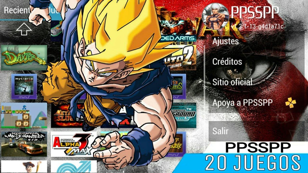 descargar juegos para ppsspp android gratis en español mega