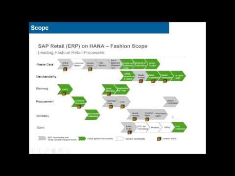 SAP FMS TRAINING   SAP FASHION MANAGEMENT SOLUTION ONLINE DEMO VIDEO