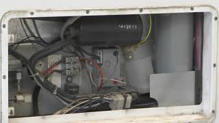 RV Refrigerator Cleaning of burner