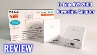 D-Link AV2 2000 Powerline Internet Adapters REVIEW