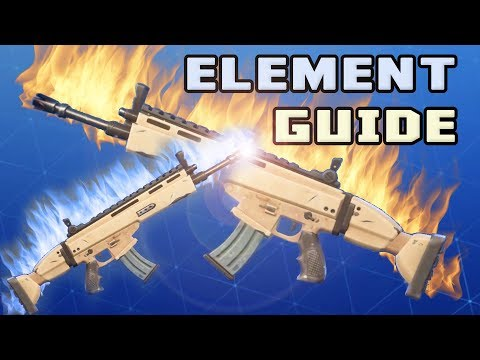 Fortnite Complete Guide To Elements, Energy And Physical For All Levels