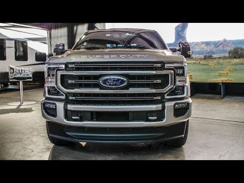 2020 Ford F Series Super Duty receives new engines, more features