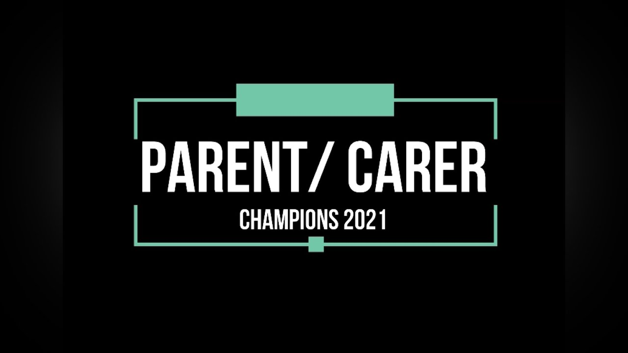 announcing the new Parent Carer Champions network