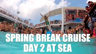 Royal Caribbean Cruise Independence of the Seas: Day 2 at Sea (GoPro HERO + LCD Sony a6000)