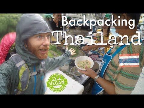 Backing Thailand Vegan Travel VLOG   Tonsai Beach to Bangkok